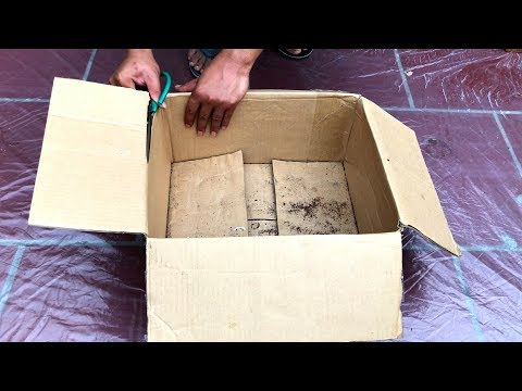 DIY - ❤️ CEMENT CRAFT IDEAS ❤️ - The project of making three- legged cement pots is extremely easy