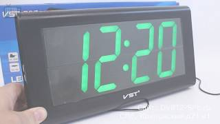 VST-795 - обзор электронных часов