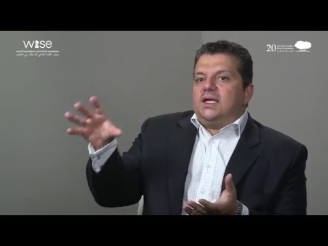 Mr. Stavros Yiannouka, CEO of WISE - WISE 2015 Eminent Voices