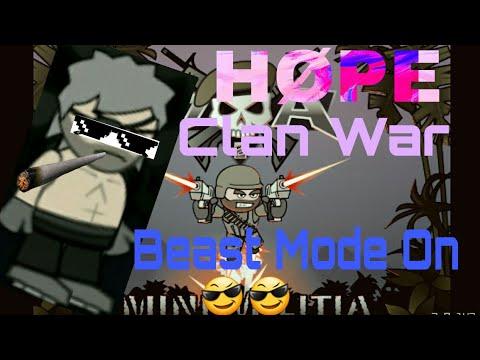 || Mini Militia || Clan War : HØPE vs TnR ( ft. Earth, Nemesis, Crusher ) [ MUST WATCH ]