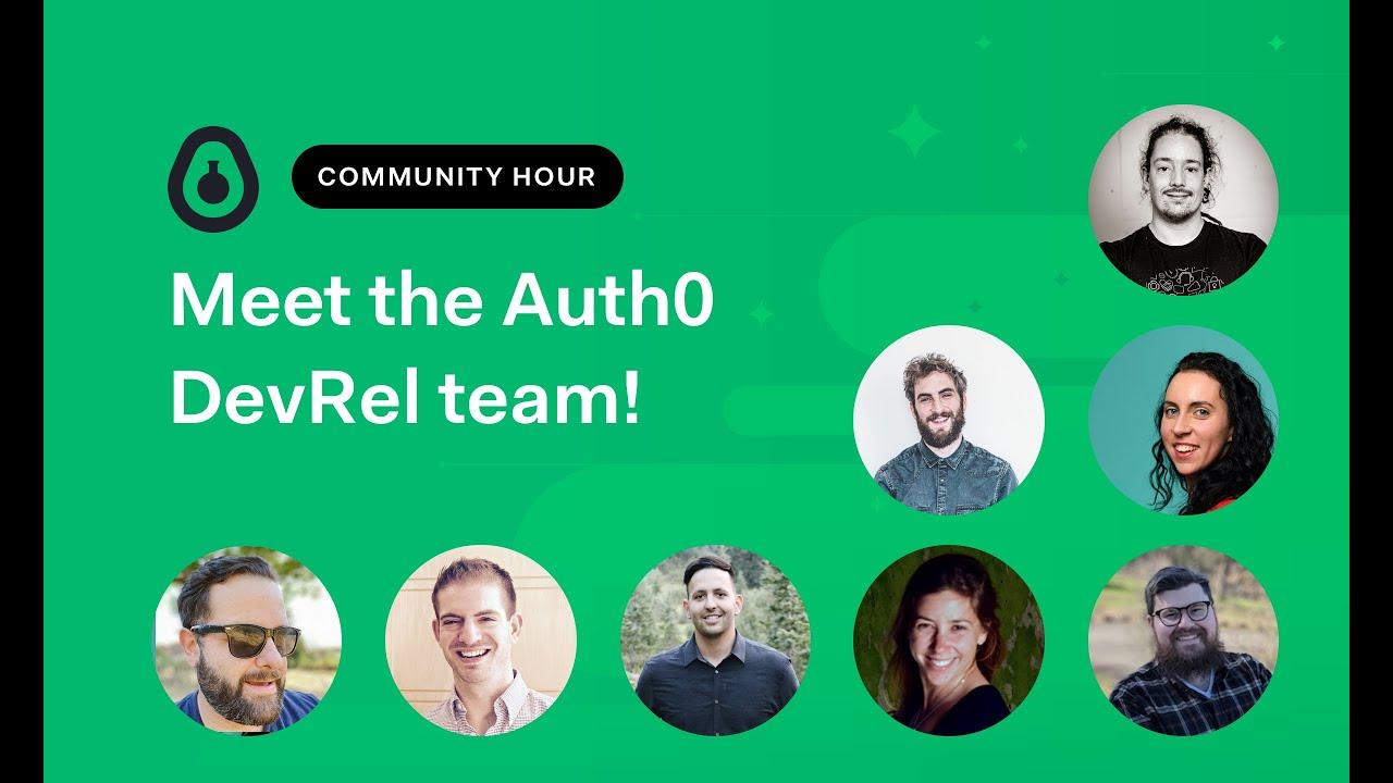 Meet the Auth0 DevRel Team!