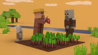 Hour Of Code: A Minecraft Tale Of Two Villages