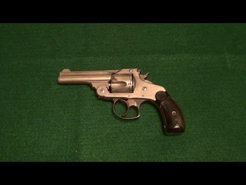 S&W 3rd Model 38 Double Action Break Top Revolver