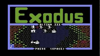 Ultima I to VI (Commodore 64 intros)