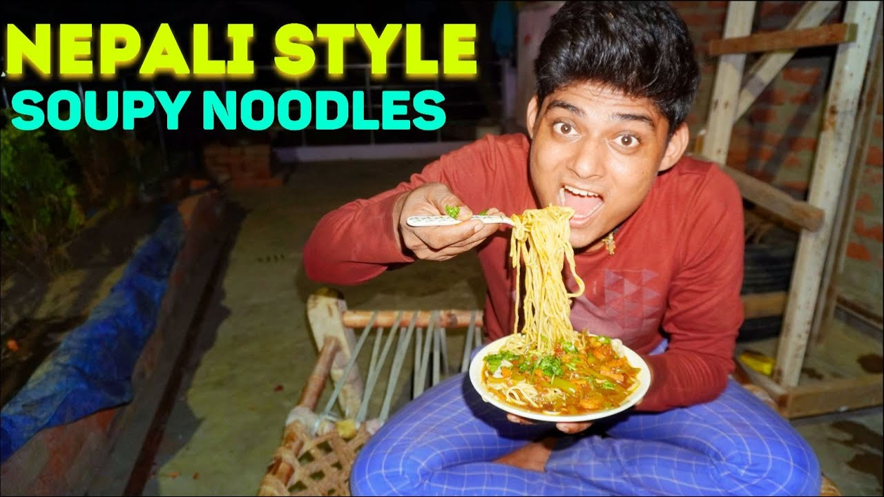 Nepali Style Spicy Shoppy Noodles Recipe | Shoppy Noodles | Spicy Noodle Recipe