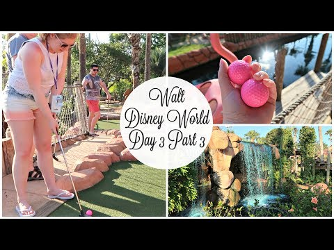 Disney World Day 3 Part 3: Congo River Mini Golf | Aimee Lodge