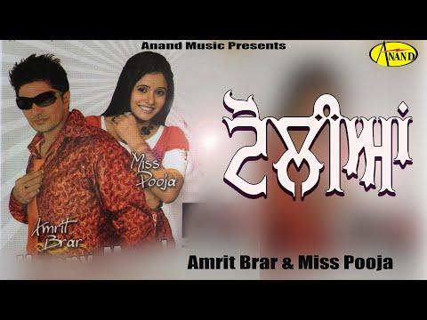 Amrit Brar ll Miss Pooja    Toliyan    New Punjabi Song 2017    Anand Music