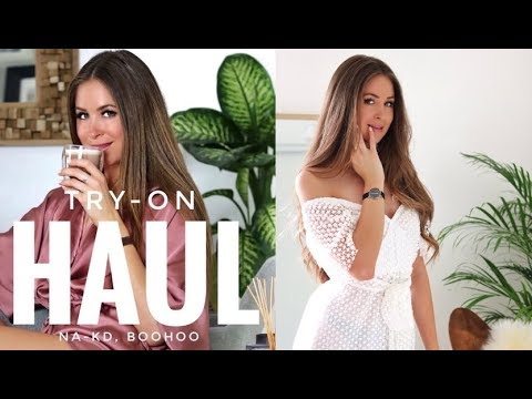 HAUL TRY-ON (NA-KD, BOOHOO) | Laura MILOW