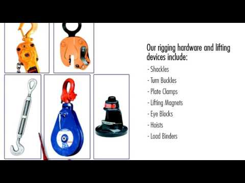 Rigging Hardware And Tools For Your Lifting Task