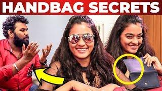 SECRET Pouch Inside Gayathrie's Handbag Revealed by Vj Ashiq