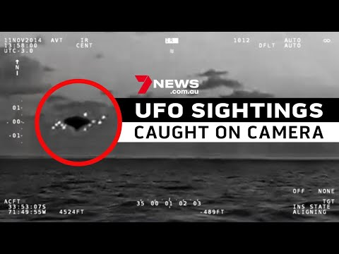 UFO SIGHTINGS CAUGHT ON CAMERA    A compilation of the internet's most divisive videos