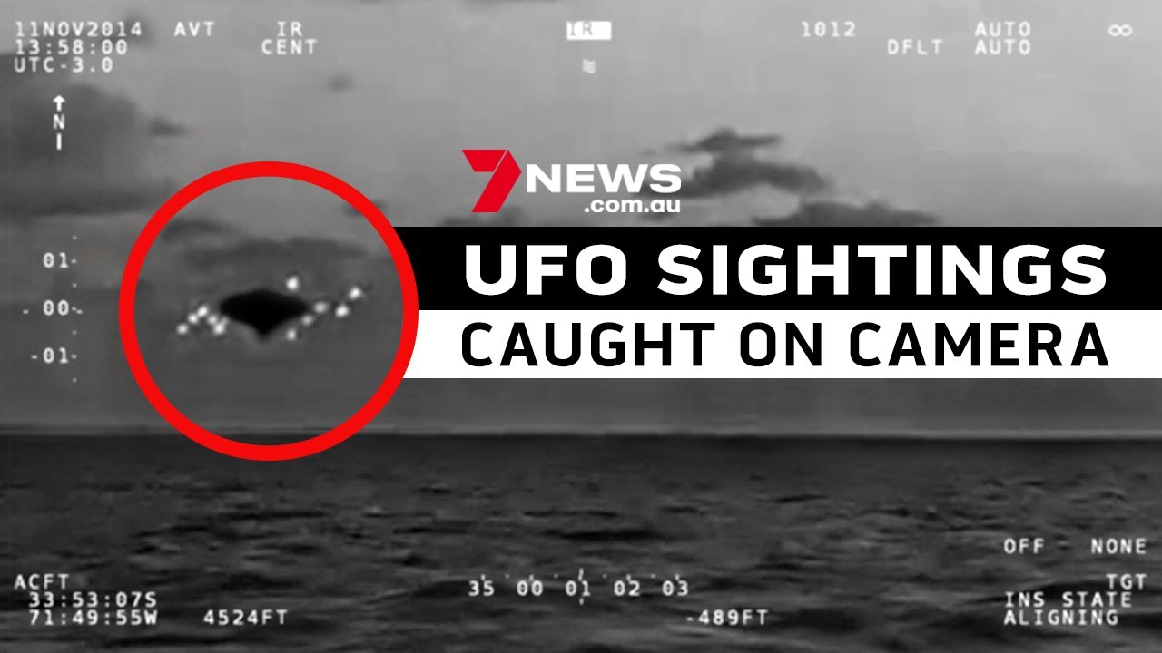 UFO SIGHTINGS CAUGHT ON CAMERA |  A compilation of the internet's most divisive videos