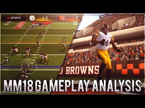 Madden Mobile 18 GAMEPLAY (In-Depth Analysis) - Live FOOTAGE Review