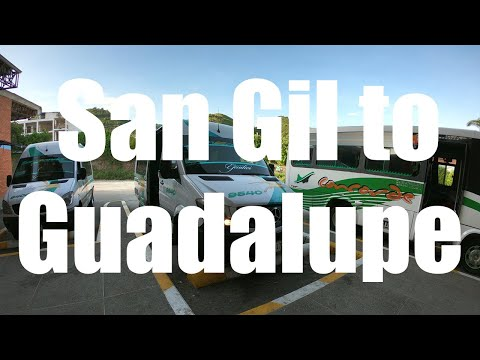 San Gil to Guadalupe, Colombia travel  - 4K UHD - Virtual Trip