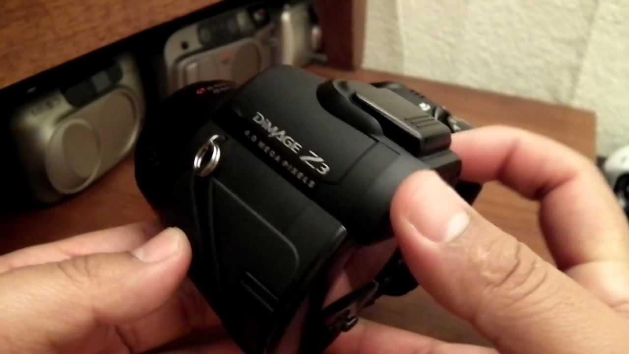 konica minolta dimage z3 digital youtube rh youtube com DiMAGE Minolta Alpha Lenses Minolta DiMAGE XT Digital Camera