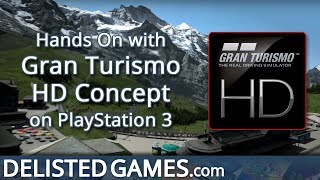 Gran Turismo HD Concept - PlayStation 3 (Delisted Games Hands On)