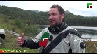 Дайверы из Бельгии совершили погружение в Галанчожское озеро