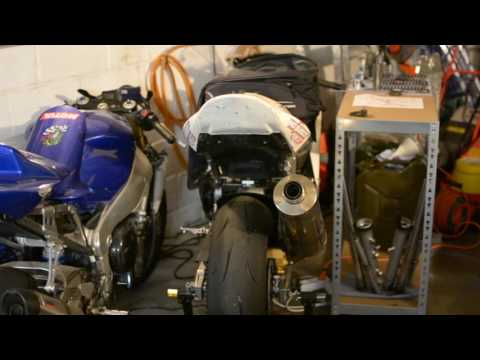 Motorcycle Addict -  Episode 1 - Tour du garage