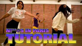 Jay-Z & Kanye West - Ni**as in Paris ( TUTORIAL ) Choreography | MihranTV (@MIHRANKSTUDIOS)