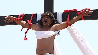 Crucifixion rites in Barangay San Pedro Cutud, City of San Fernando, Pampanga