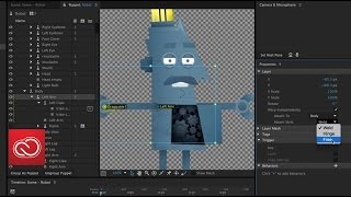 What's New: Workflow Improvements in Character Animator (June 2016) | Adobe Creative Cloud