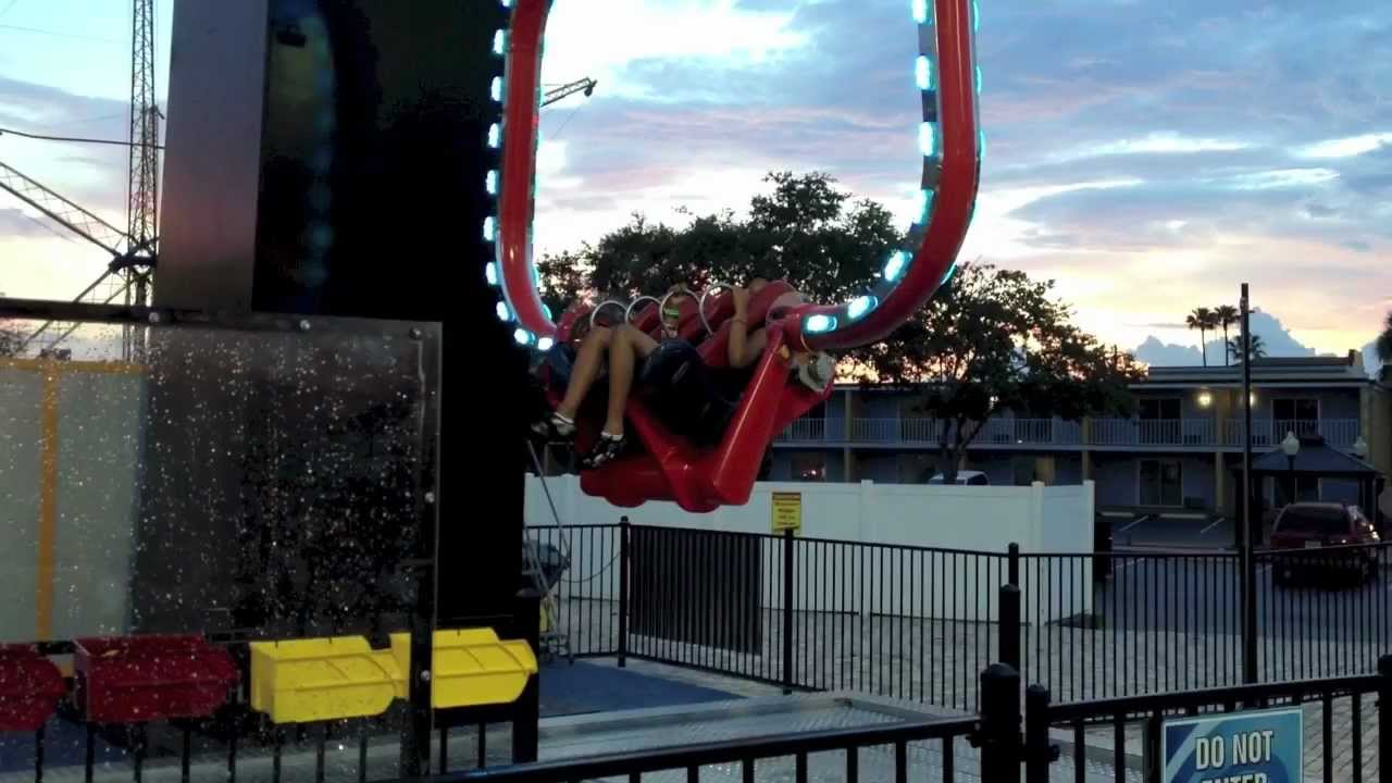 Vomatron ride by Old Town in Kissimmee, Florida - YouTube