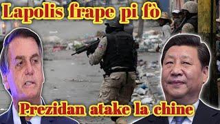 Lapolis fini ak kidnaping lan aprè aksyon sa a ... Prezidan brezil la atake la chine