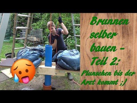 Brunnen Selber Bauen - Teil 2: Plunschen, Plunschen, Plunschen... & Ein Unerwartetes Ende😃😬😢