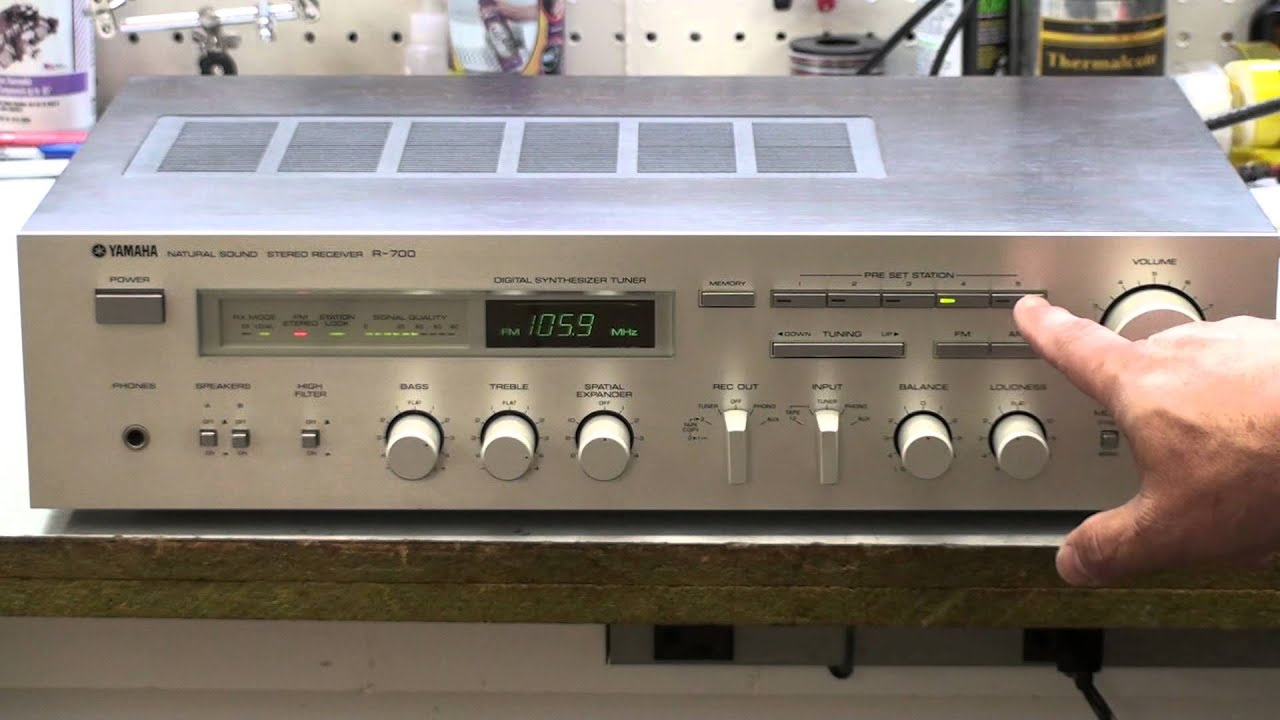 Yamaha R 700 Receiver For Sale Excellent Condtion Youtube