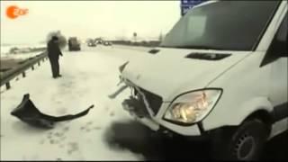 Isch machen so, aber... Unfall