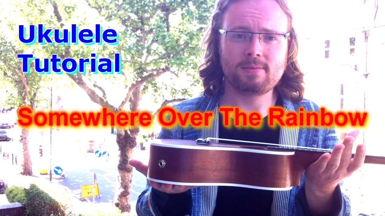 Somewhere over the rainbow ukulele tutorial youtube hexwebz Gallery
