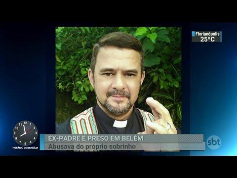 Ex-padre acusado de abusar do próprio sobrinho é preso em Belém | SBT Brasil (23/03/18)