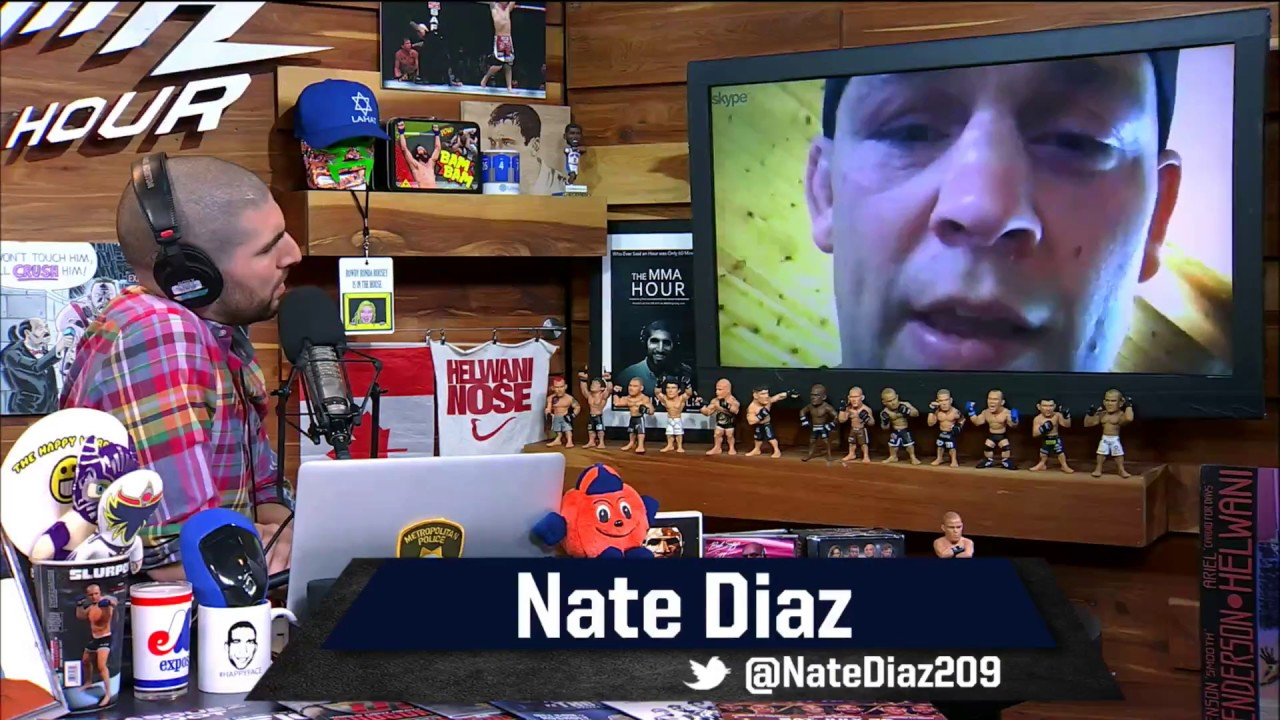 Special Episode of The MMA Hour With Nate Diaz - MMA Fighting
