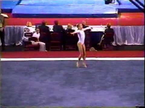 Courtney Kupets - 2001 Junior US Nationals Finals - Floor Exercise