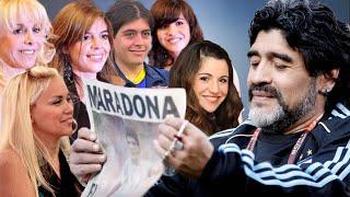 ع الحدث - عائلته تكشف حجم ثروته، هذا ما سيحدث لعائلة دييغو مارادونا أسطورة الكرة القدم العالمية