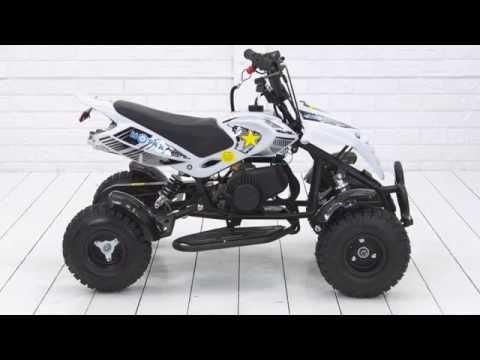 Обзор и сборка детского квадроцикла MOTAX ATV H4 mini-50 | Купить детский квадроцикл
