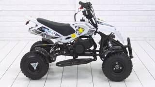видео Квадроциклы детские купить | Миниквадроциклы Motax на бензине для детей с 3-6 лет двухтактный