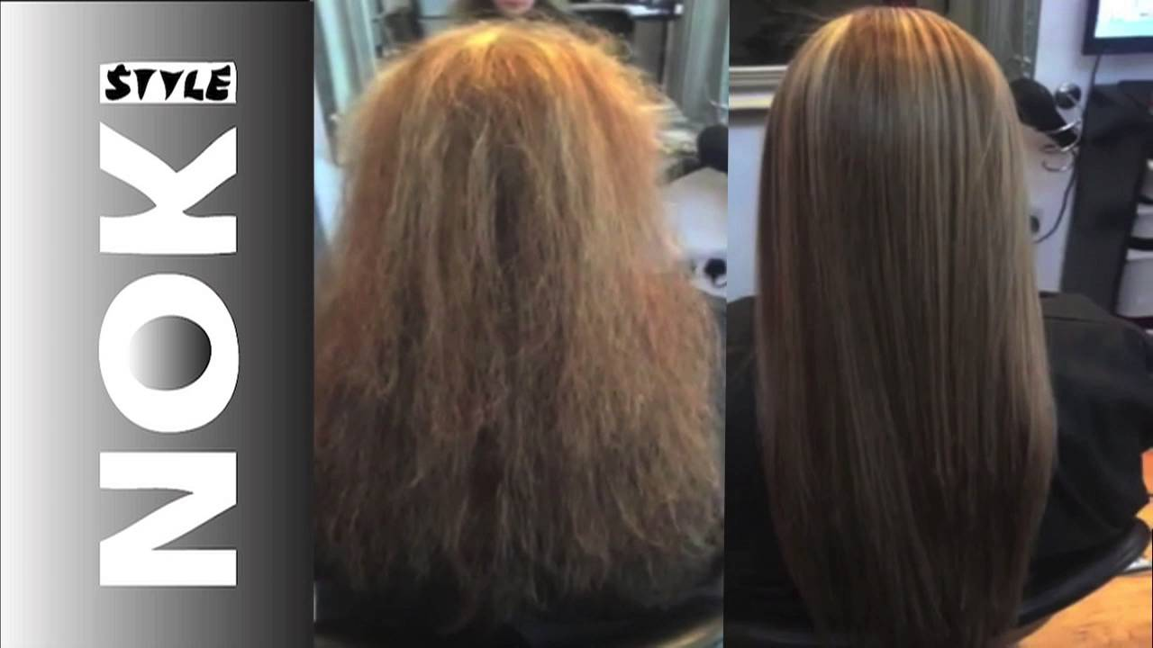 Brazilian Blowdrys Glasgow Video Showing Clients Before After