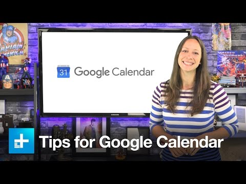 Tips for Google Calendar