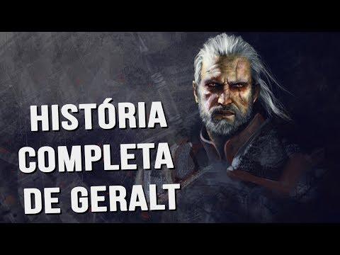 A HISTÓRIA COMPLETA DE GERALT DE RIVIA! - LORE DA SAGA THE WITCHER