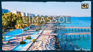 LIMASSOL Cyprus 2020 Cinematic DRONE 4K