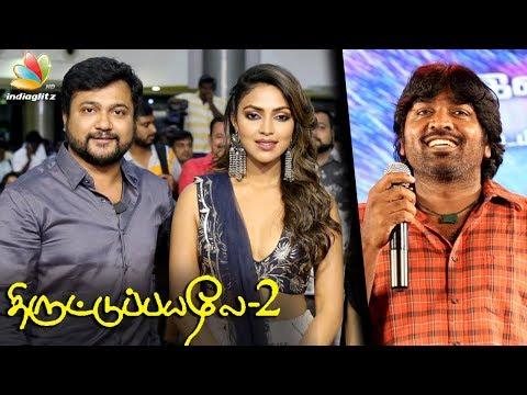 Vijay Sethupathi, Amala Paul at Thiruttu Payaley 2 Audio Launch | Bobby Simha Movie