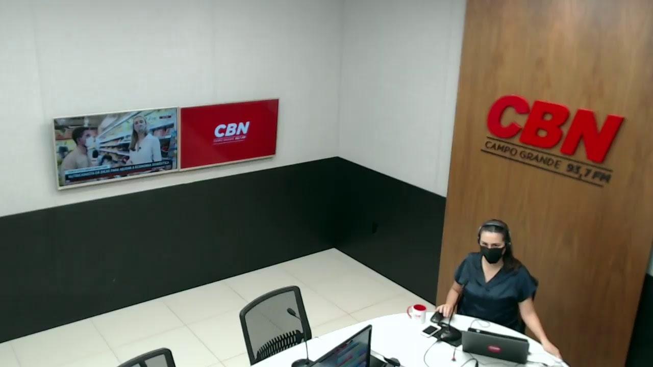 CBN Campo Grande (07/10/2020): com Ginez Cesar