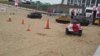 Mini Tanks, Waterfall - Cleethorpes Airshow Extras