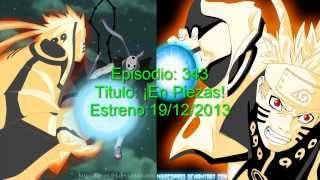Naruto Shippuden Episodios Estreno Diciembre 2013