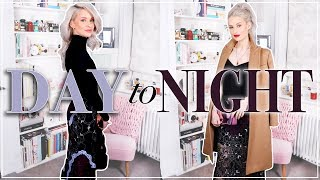 HOW TO TAKE YOUR LOOK FROM DAY TO NIGHT | MAKEUP, HAIR & OUTFIT