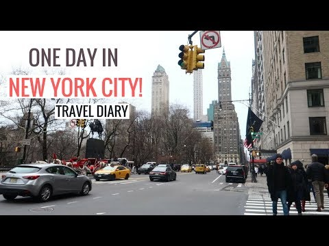 NEW YORK TRAVEL DIARY: FASHION WEEK, TIMES SQUARE + A DAY OF SOLO TRAVEL | NYC VLOG
