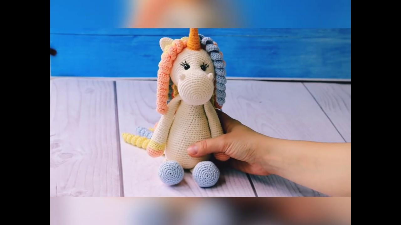 Amazon.com: Girly Girl Unicorn Amigurumi Doll Pattern Book eBook ... | 720x1280