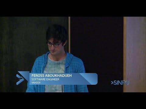 SINFO Conf 2015 - Feross (Yahoo!)