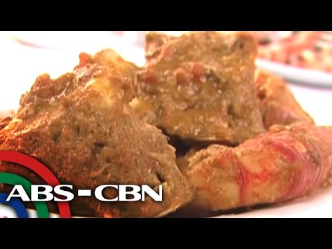 Special Seafood Recipe: Adobong Alimango And Sugpo